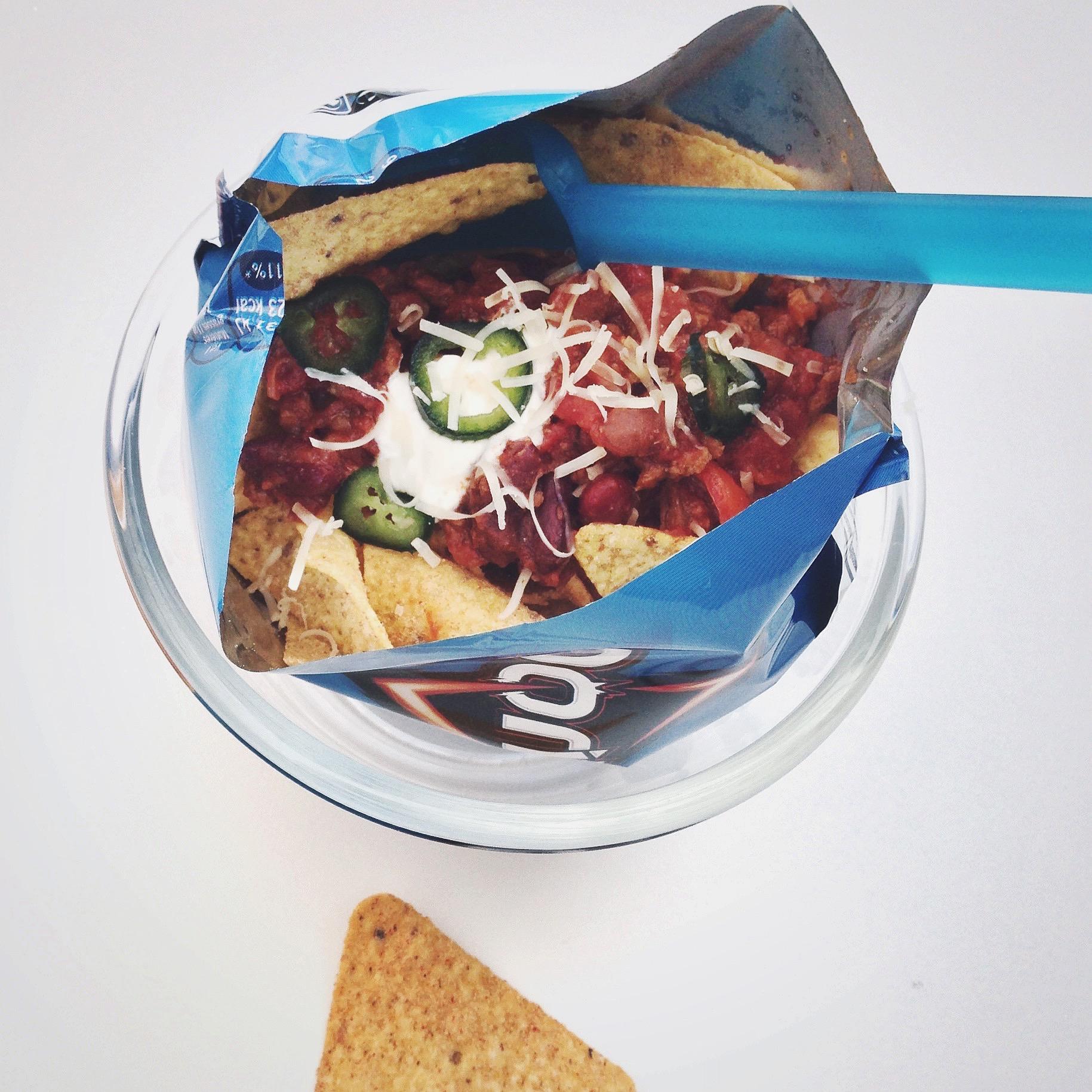 Chili con carne in een zakje