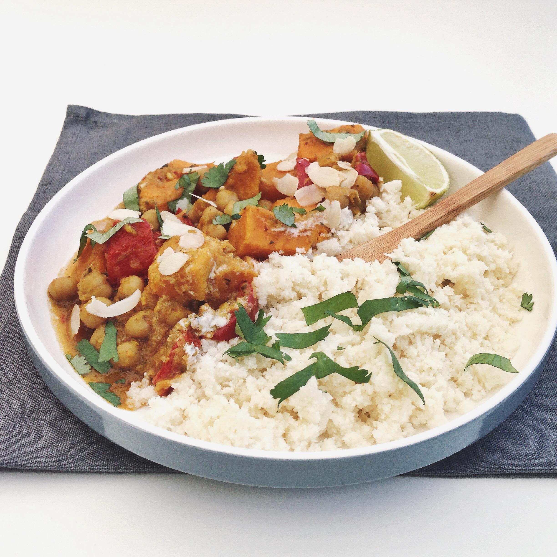 Bloemkoolrijst met groentekorma, by Cookingdom