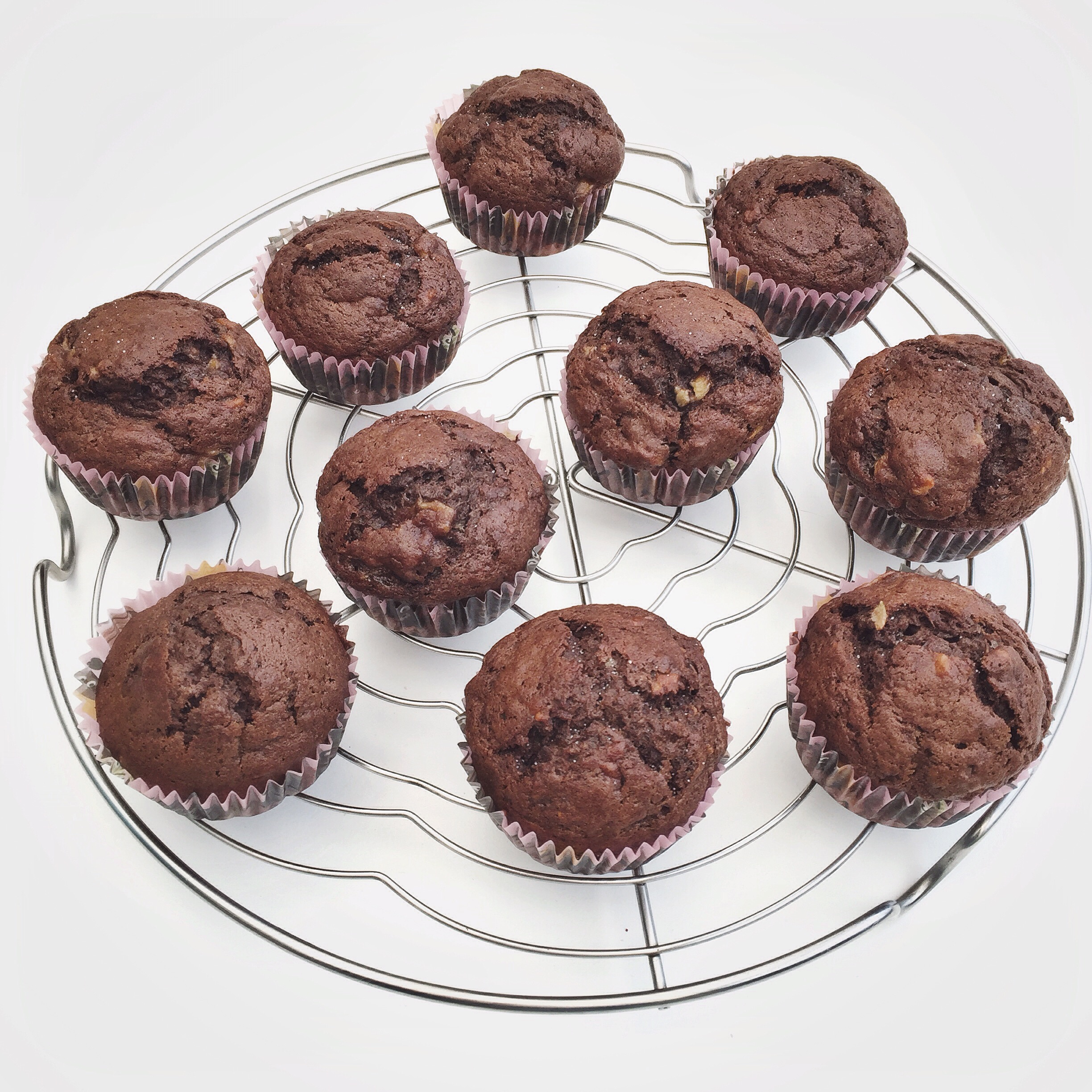 Chocolade bananen muffins, by Cookingdom