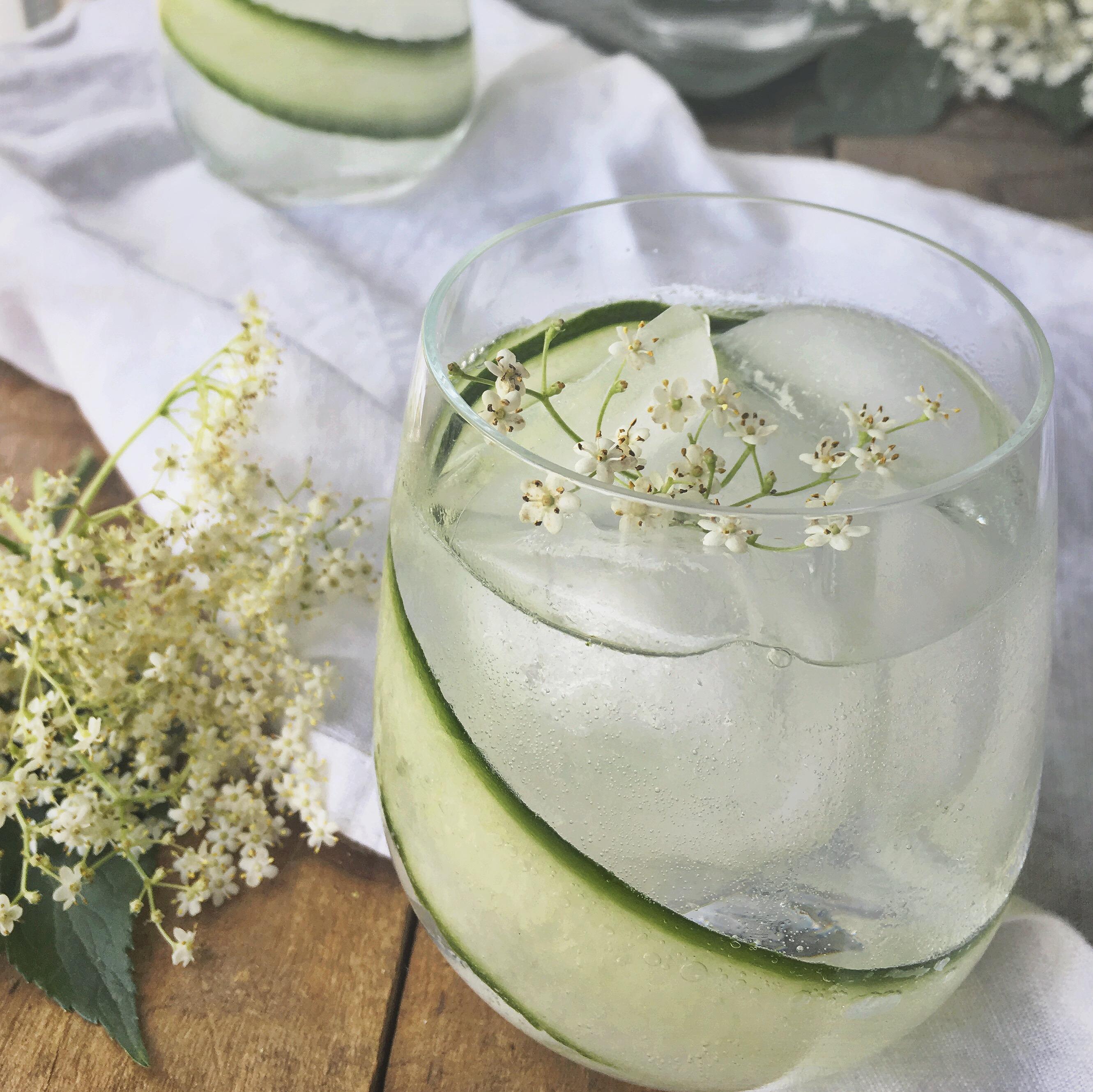 Vlierbloesem gin cocktail