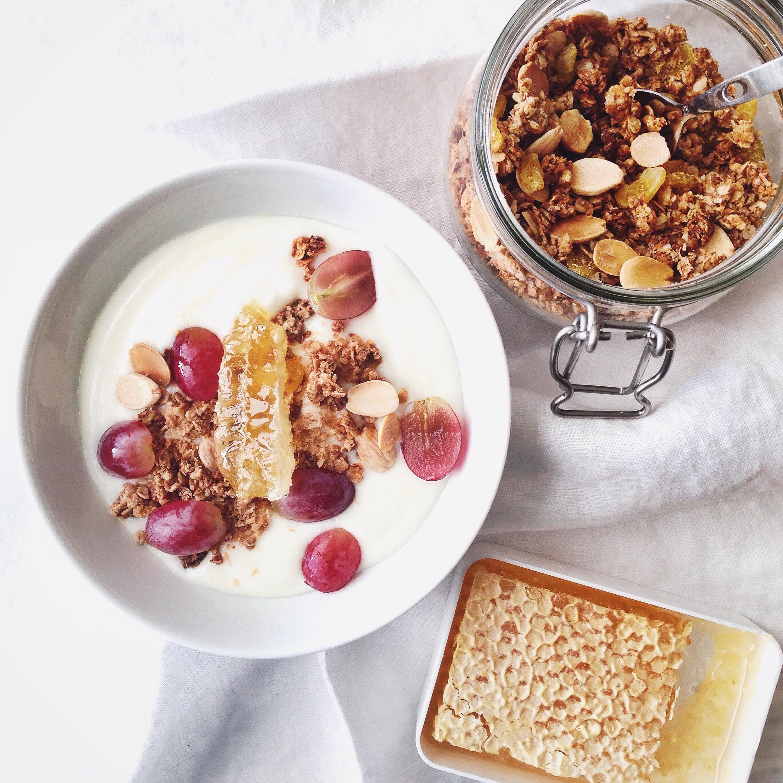 Knapperige granola met eiwit(2)