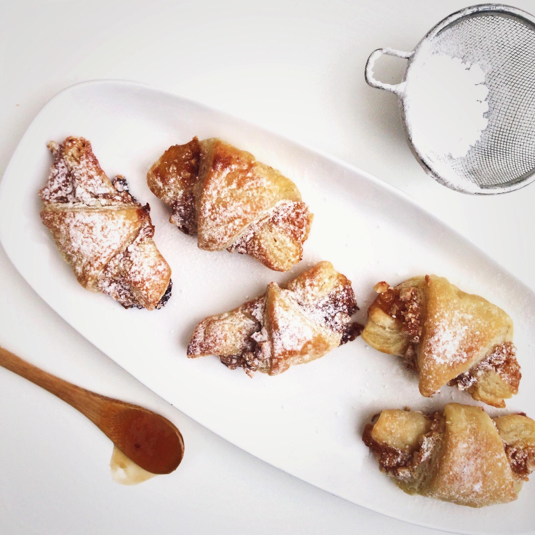 Rugelach met abrikozenjam en hazelnoot, by Cookingdom