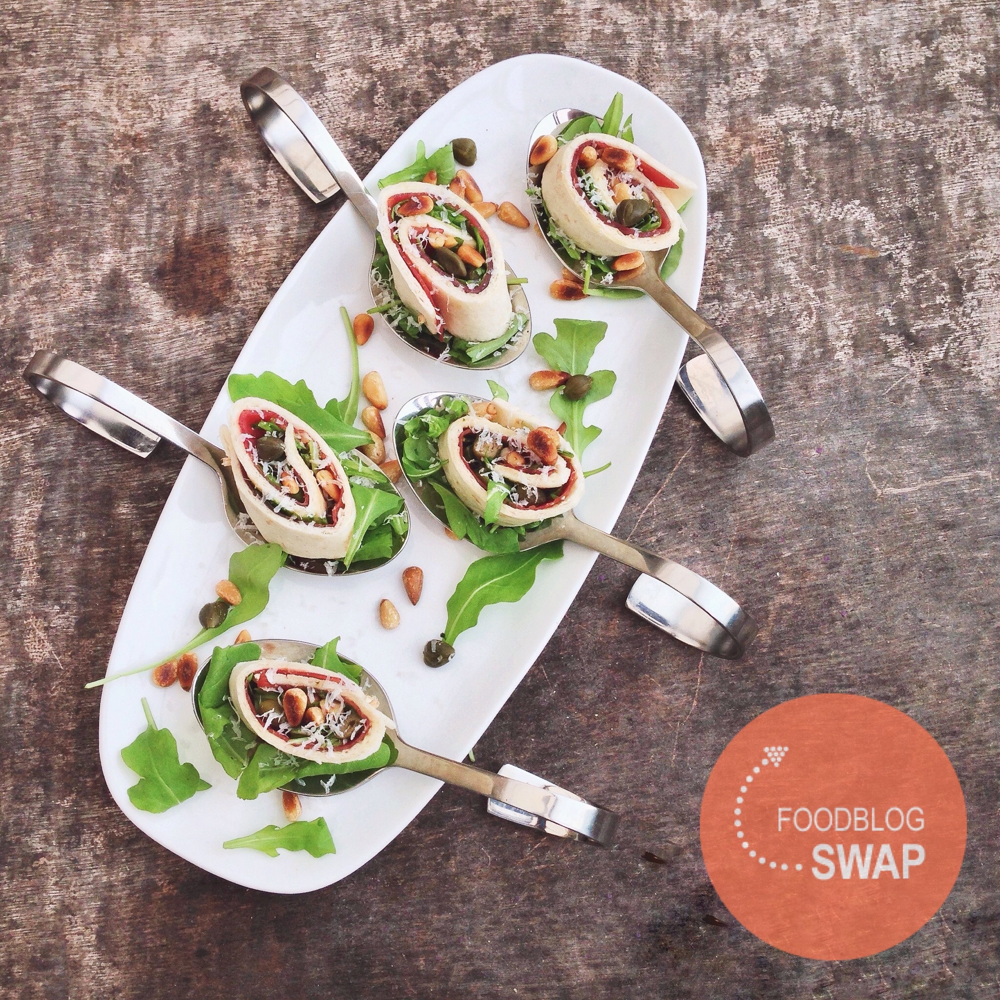 carpaccio wrap met balsamico dressing, by Cookingdom