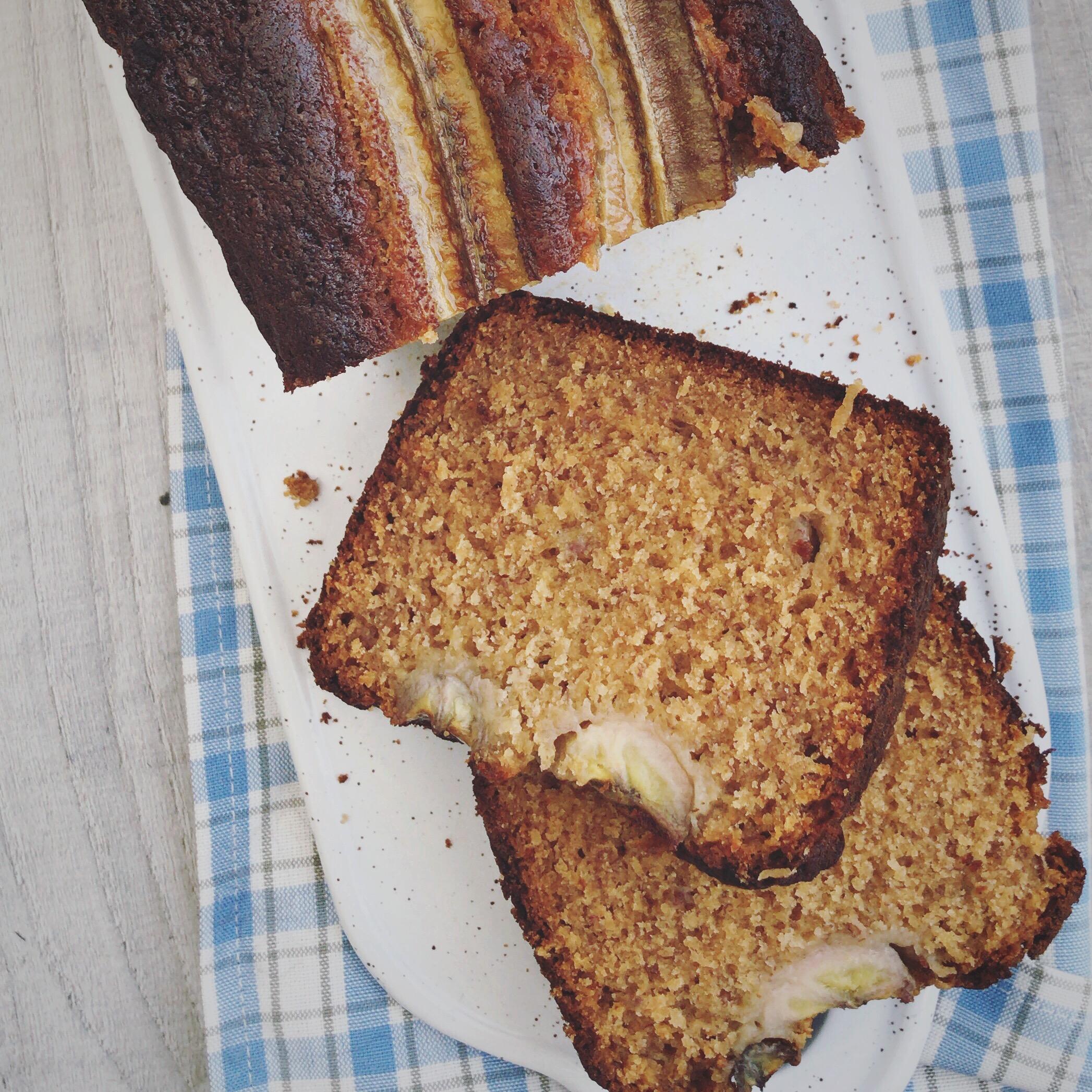 Bananenbrood met miso